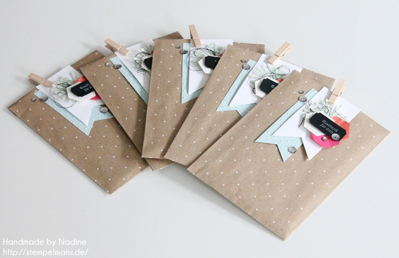 Stampin Up Goodie Gift Bag Tuete Gastgeschenk Verpackung Box Stempelmami Nadine Koeller Stempelset Kleine Wuensche 041