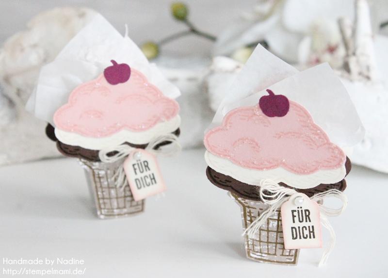 Kleine Eistüten Boxen nur für dich – Stampin Up! Blog Hop Team Stempelmami