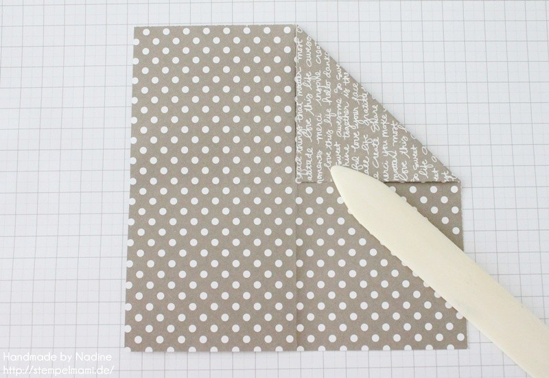 Stampin Up Anleitung Tutorial Box Goodie Give Away Schachtel Stempelmami Origami 046