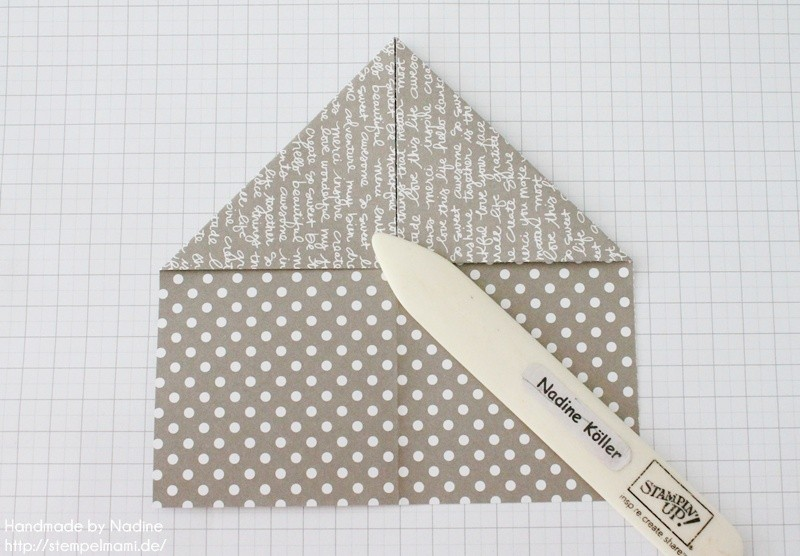 Stampin Up Anleitung Tutorial Box Goodie Give Away Schachtel Stempelmami Origami 048