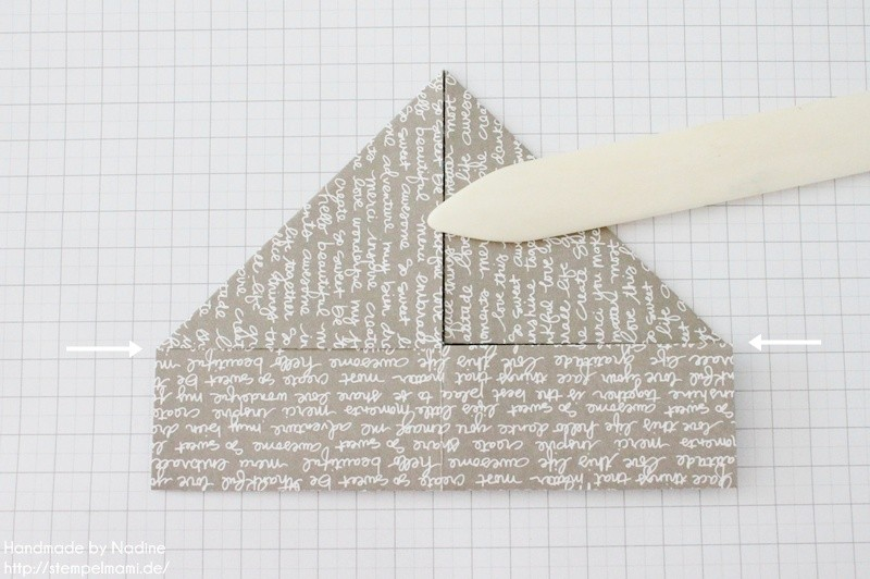Stampin Up Anleitung Tutorial Box Goodie Give Away Schachtel Stempelmami Origami 049