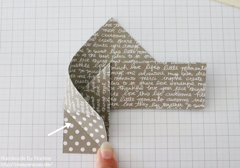 Stampin Up Anleitung Tutorial Box Goodie Give Away Schachtel Stempelmami Origami 061