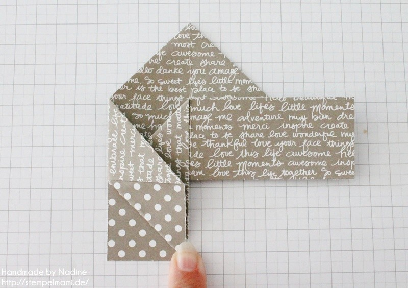 Stampin Up Anleitung Tutorial Box Goodie Give Away Schachtel Stempelmami Origami 062