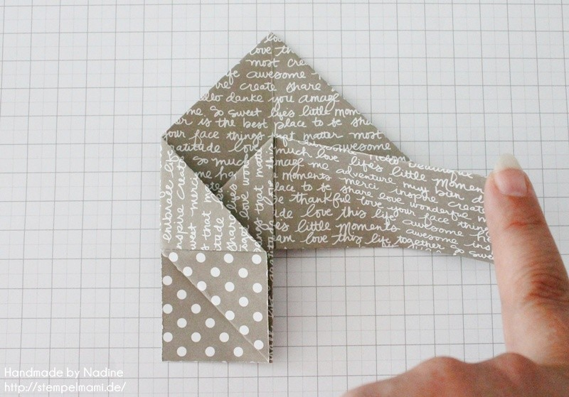 Stampin Up Anleitung Tutorial Box Goodie Give Away Schachtel Stempelmami Origami 063