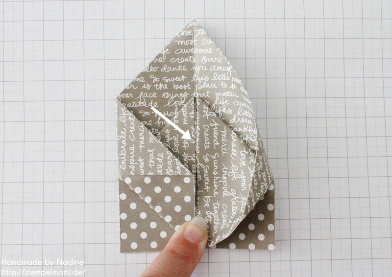 Stampin Up Anleitung Tutorial Box Goodie Give Away Schachtel Stempelmami Origami 064