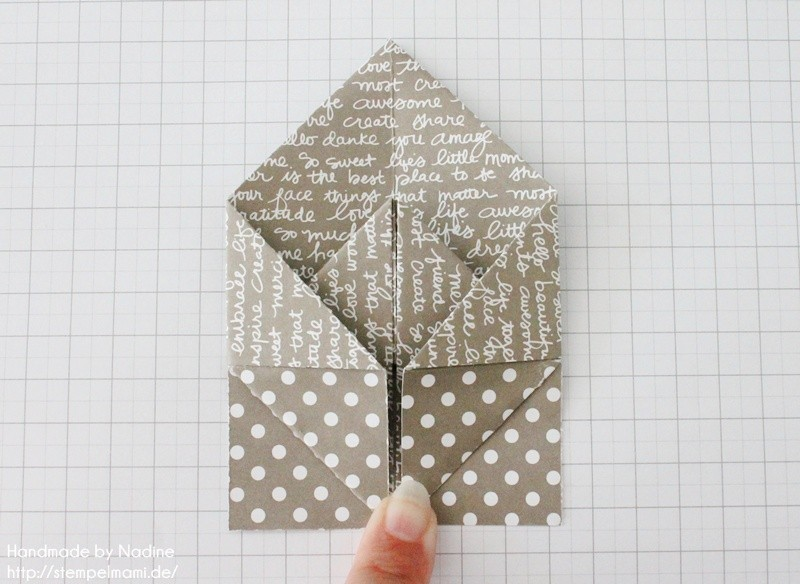 Stampin Up Anleitung Tutorial Box Goodie Give Away Schachtel Stempelmami Origami 065