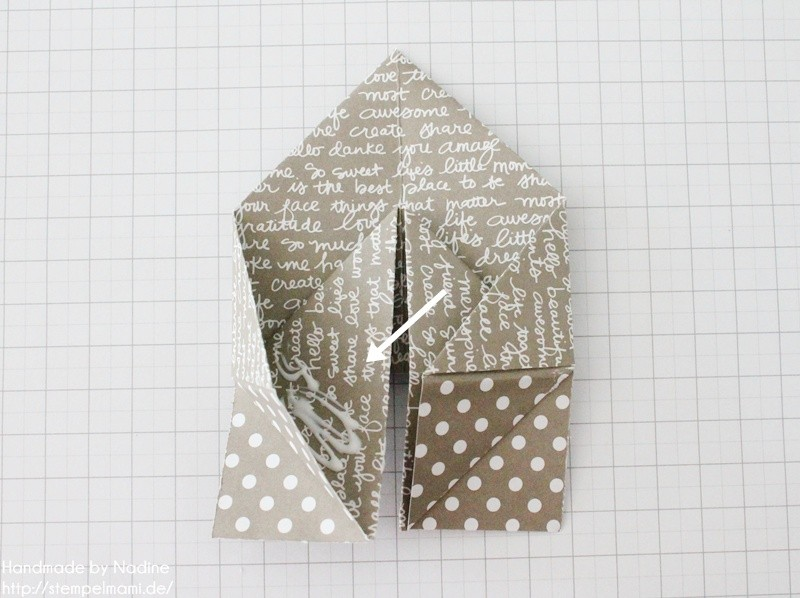 Stampin Up Anleitung Tutorial Box Goodie Give Away Schachtel Stempelmami Origami 070