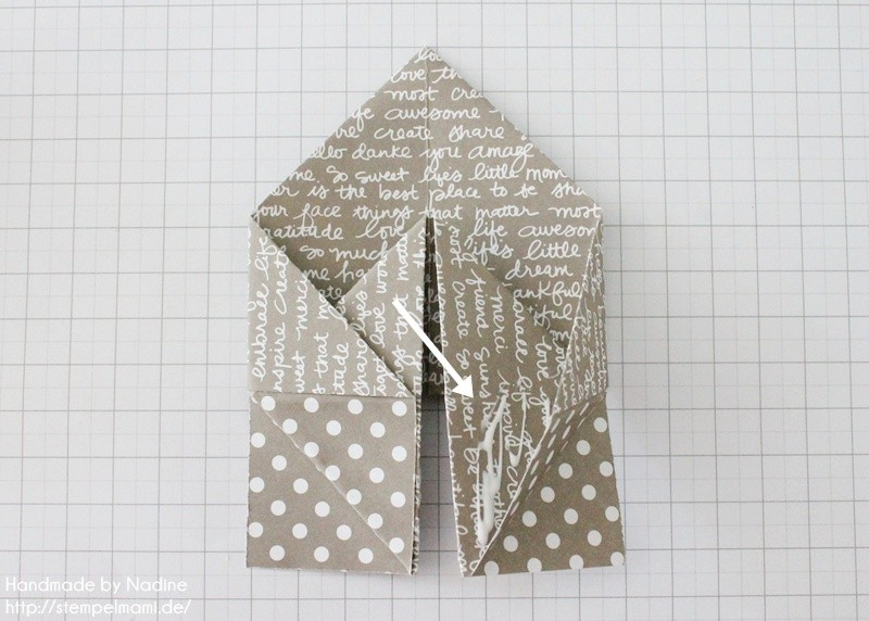 Stampin Up Anleitung Tutorial Box Goodie Give Away Schachtel Stempelmami Origami 071