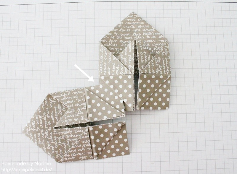 Stampin Up Anleitung Tutorial Box Goodie Give Away Schachtel Stempelmami Origami 073