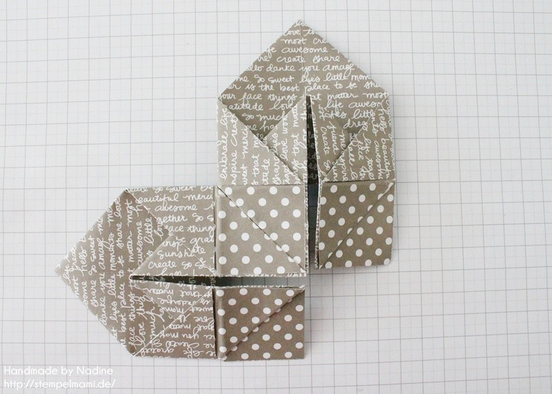 Stampin Up Anleitung Tutorial Box Goodie Give Away Schachtel Stempelmami Origami 074