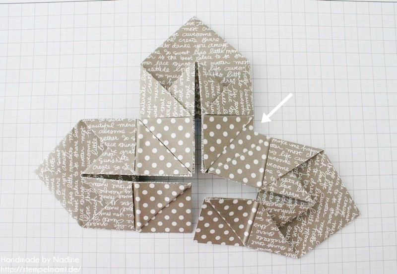 Stampin Up Anleitung Tutorial Box Goodie Give Away Schachtel Stempelmami Origami 075