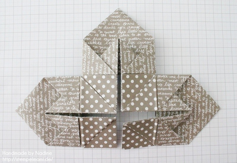 Stampin Up Anleitung Tutorial Box Goodie Give Away Schachtel Stempelmami Origami 076