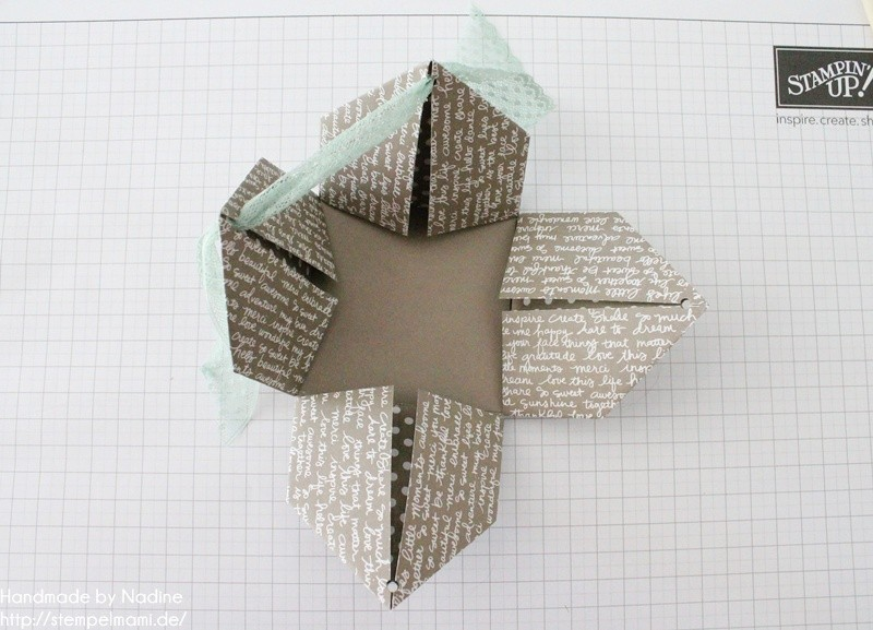 Stampin Up Anleitung Tutorial Box Goodie Give Away Schachtel Stempelmami Origami 085