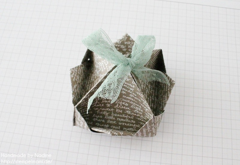Stampin Up Anleitung Tutorial Box Goodie Give Away Schachtel Stempelmami Origami 089