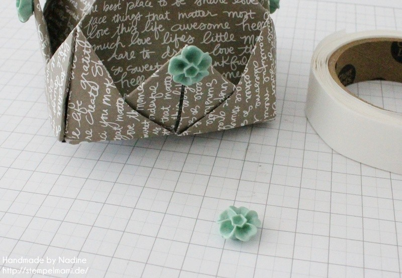 Stampin Up Anleitung Tutorial Box Goodie Give Away Schachtel Stempelmami Origami 092