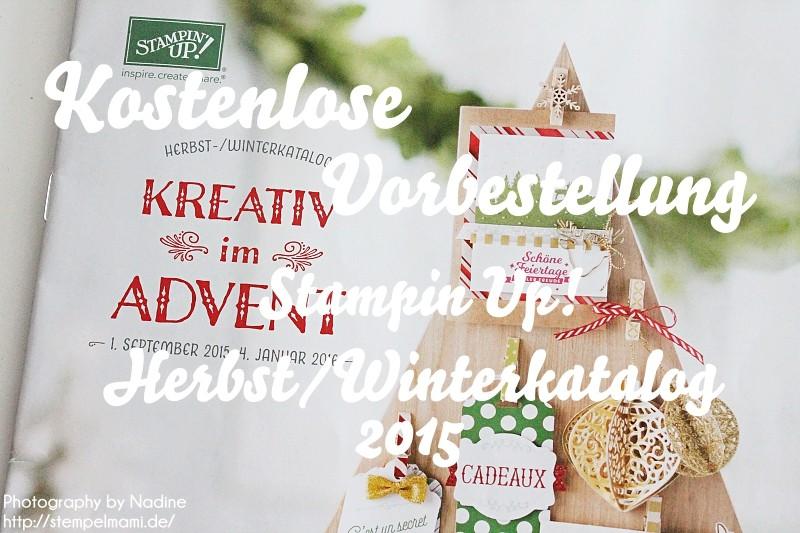 Stampin Up Herbst Winterkatalog 2015 Stempelmami Nadine Koeller