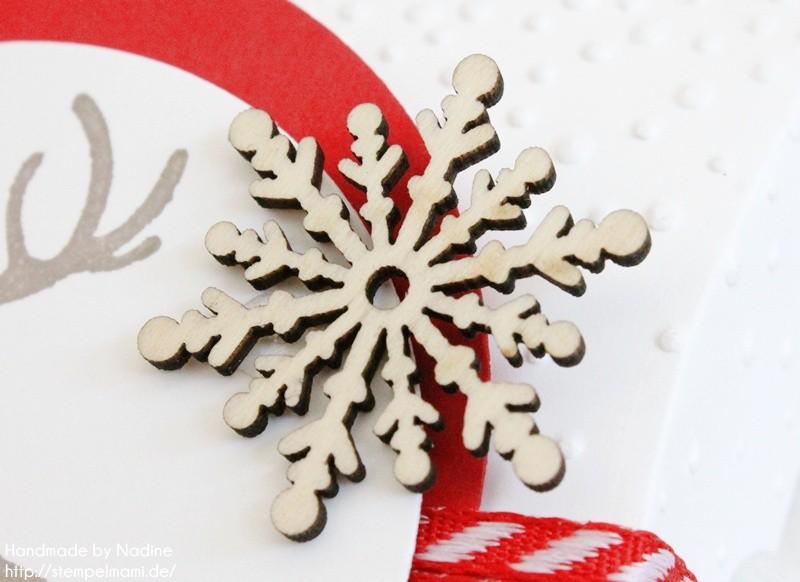 Stampin Up Pillow Box Goodie Verpackung Schachtel Stempelmami Stempelset Wahre Weihnachtsfreude 040