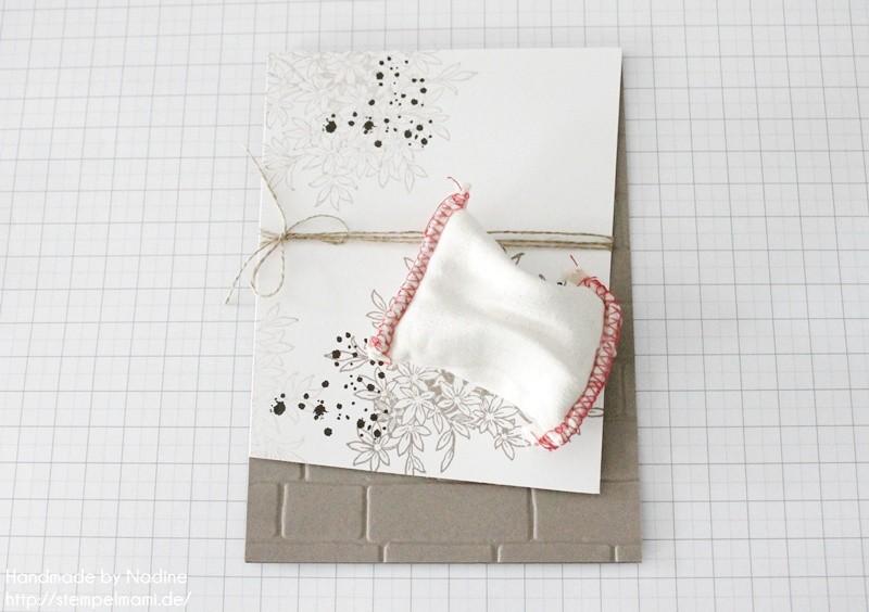 stampin up geburtstagskarte awesomely artisitic birthday card karte stempelmami anleitung tutorial glitter staub 006