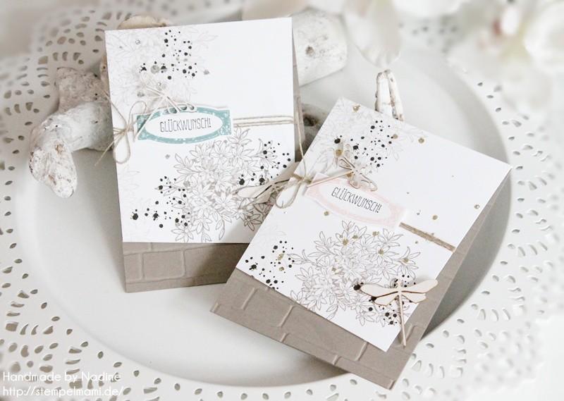 stampin up geburtstagskarte awesomely artisitic birthday card karte stempelmami anleitung tutorial glitter staub 031
