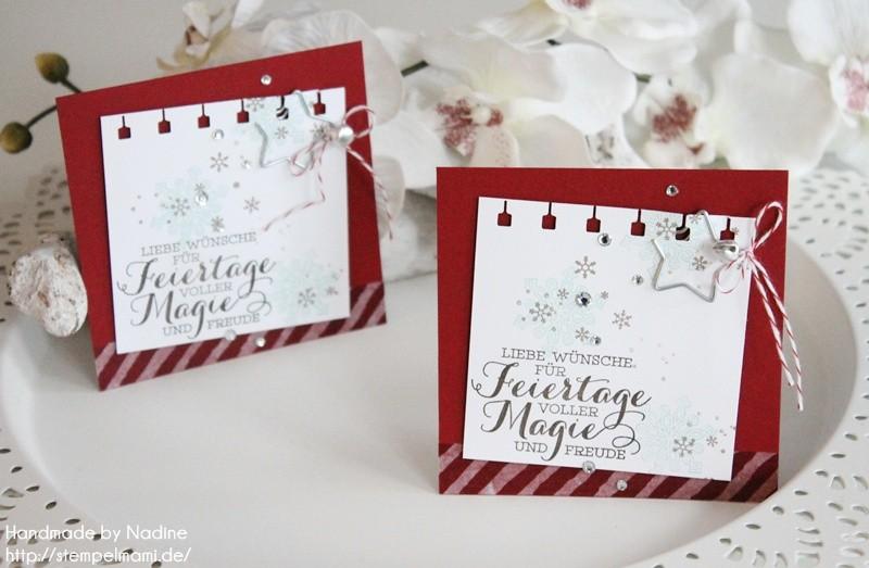 stampin up swaps swap karte weihnachtskarte weihnachten christmas card stempelmami 1