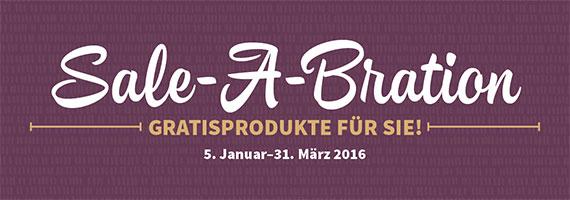 Start der Stampin Up! Sale-A-Bration Aktion 2016
