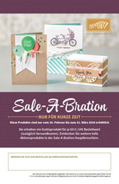 Stampin Up Sale A Bration Flyer Stempelmami