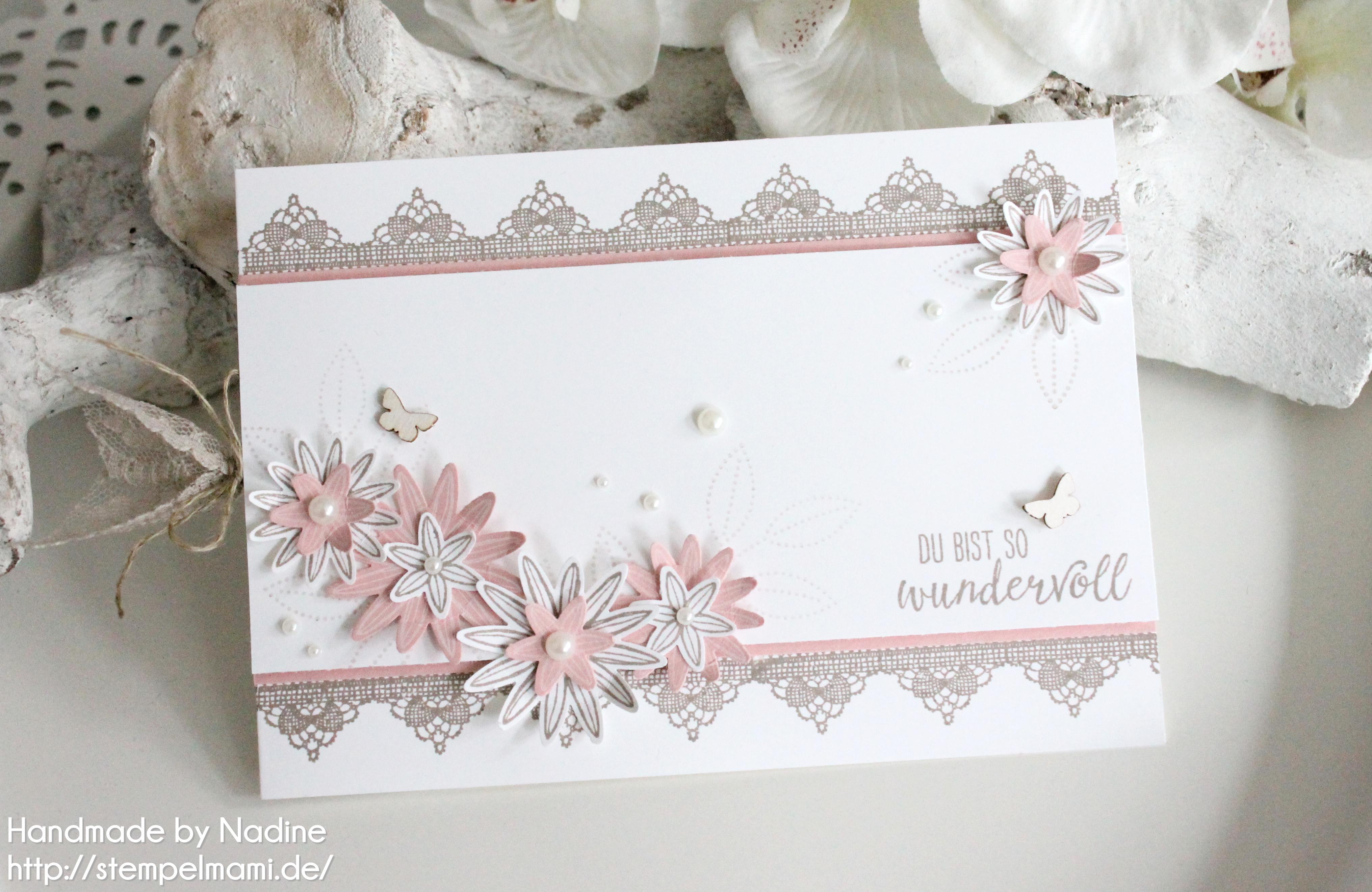Ein grusskarte oder geburtstagskarte mit dem stempelset so for Pinterest geburtstagskarte