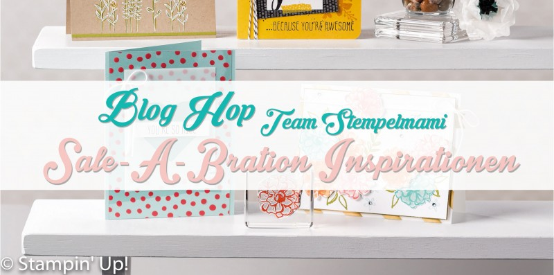 blog hop stampin up banner team stempelmami sale a bration 2016