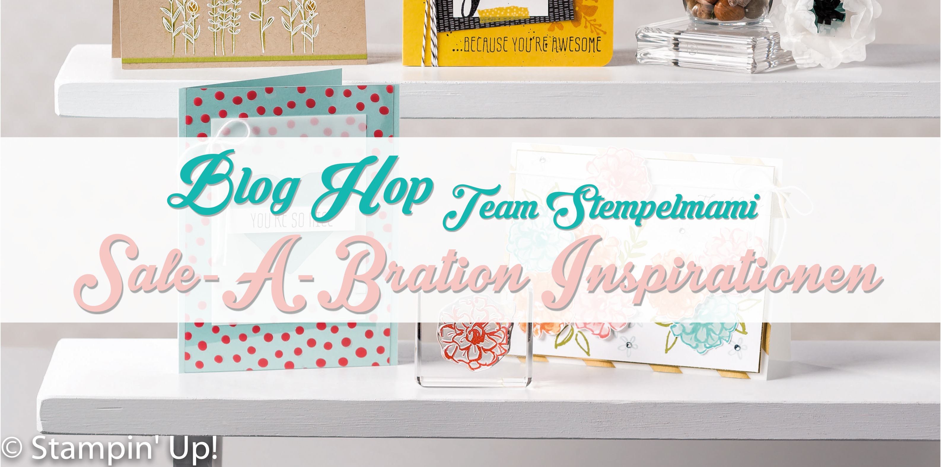 Stampin Up! Zierschachtel – Blog Hop Team Stempelmami Sale a Bration Inspirationen