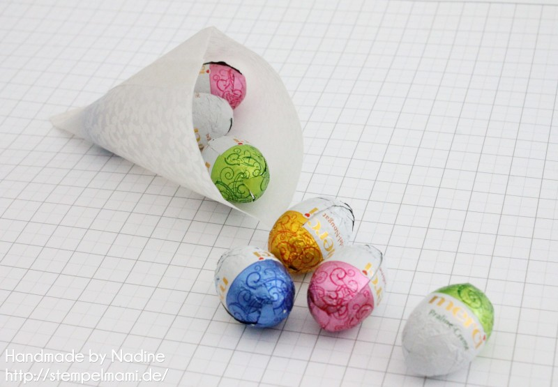 stampin up anleitung tutorial sour cream box tetraeder box schachtel stempelmami verpackung ostern goodie 6