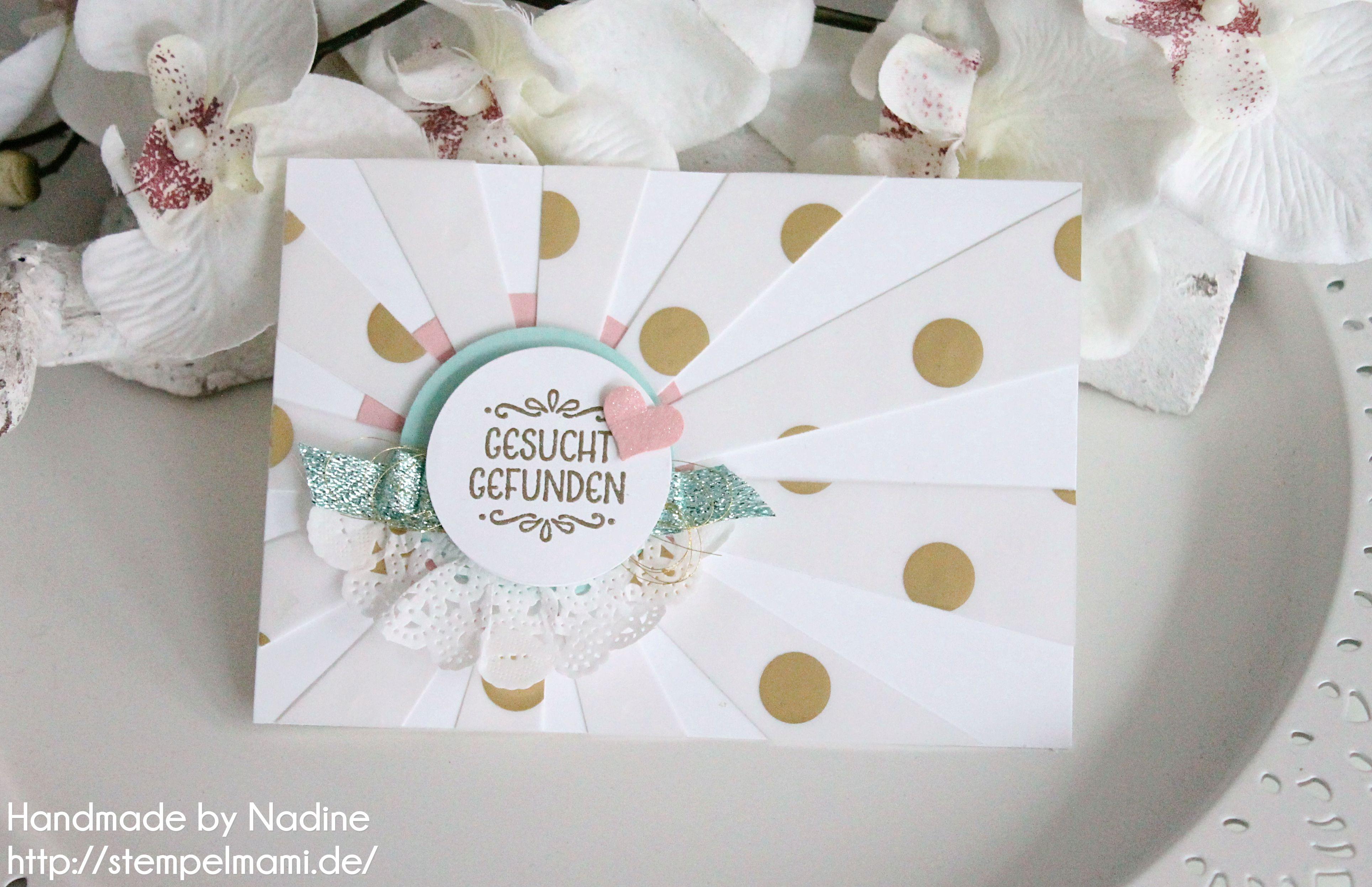 Stampin Up Einladung Einladungskarte Hochzeit Stempelmami
