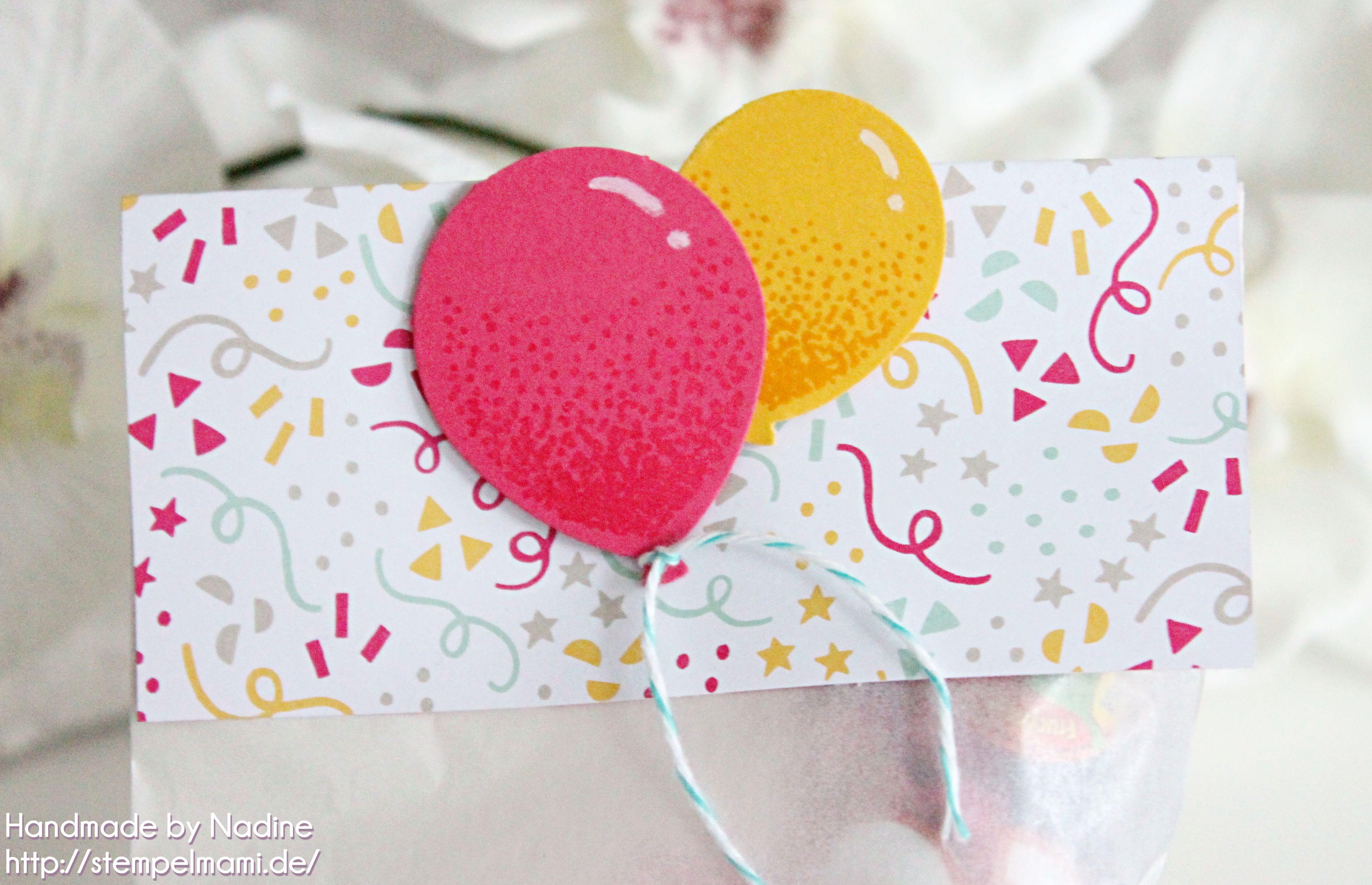 stampin up kindergeburtstag goodie stempelmami gastgeschenk give away verpackung luftballon 4