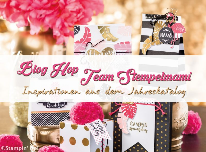 Blog Hop Team Stempelmami Stampin Up 1