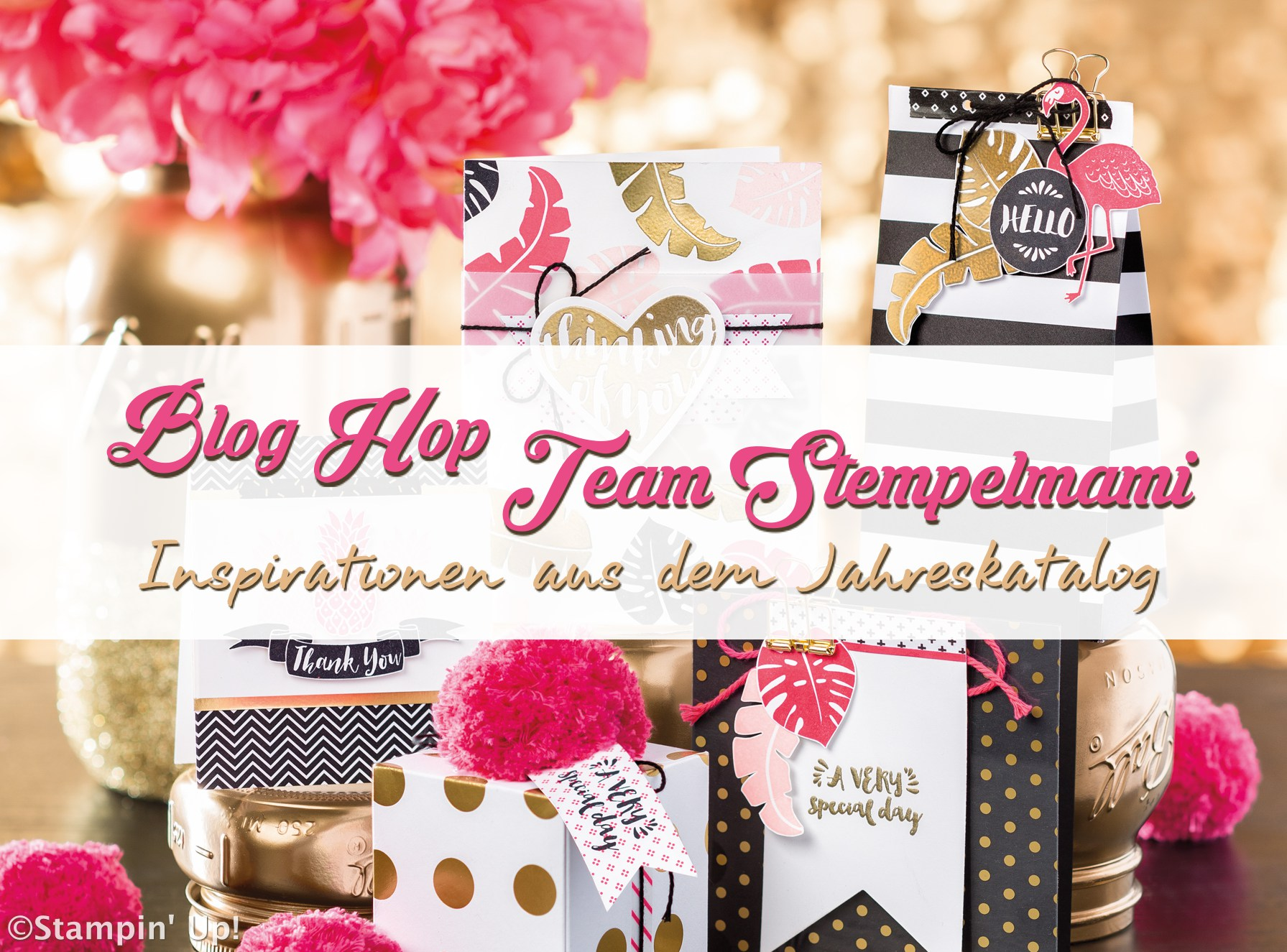 Blog Hop Team Stempelmami Inspirationen aus dem Jahreskatalog