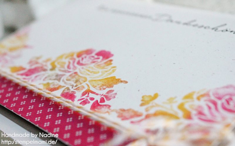 stampin up dankeskarte grusskarte stempelmami thank you card baby wipe technique stempelset florale gruesse 2