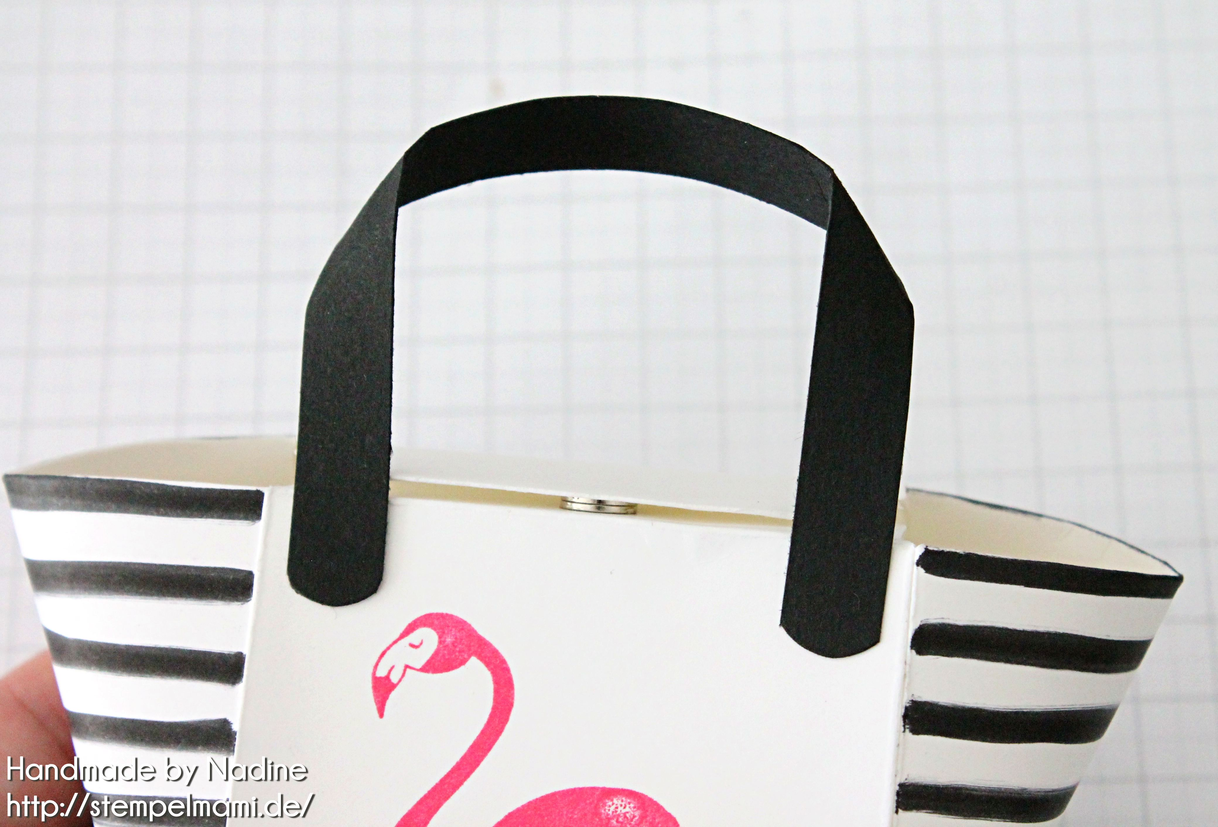 stampin up anleitung tutorial handtasche handbag box stempelmami envelope punch board 27