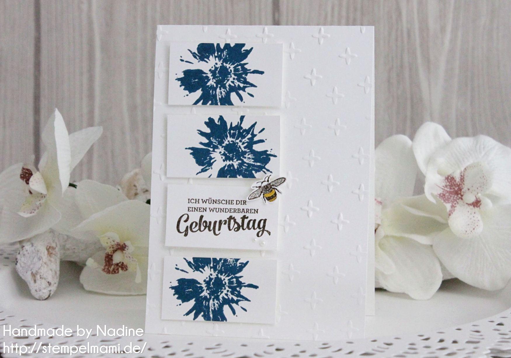Geburtstagskarten aus papierresten basteln mit stempelmami for Pinterest geburtstagskarte