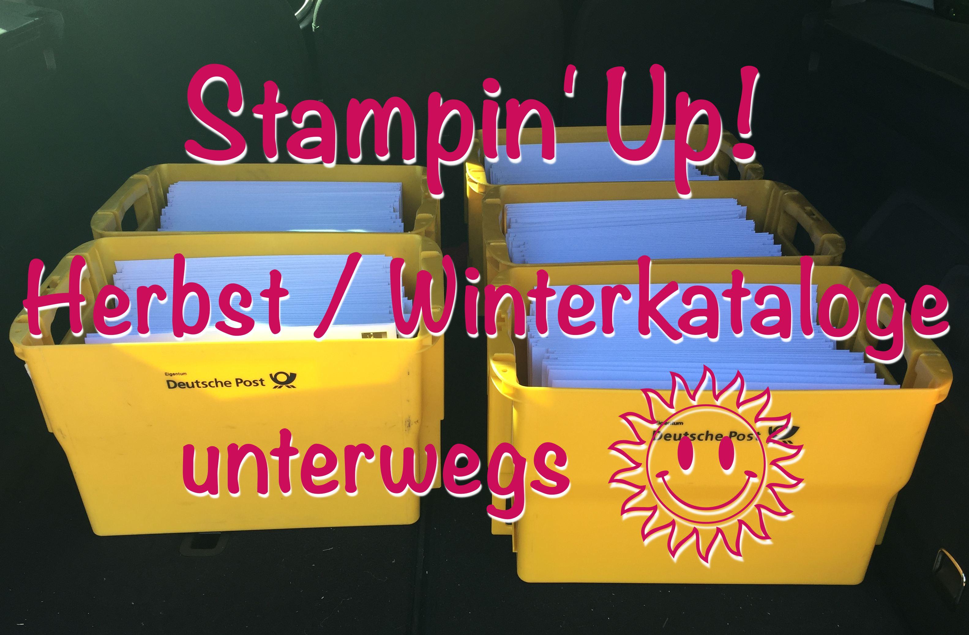 Stampin' Up! Herbst / Winterkatalog unterwegs