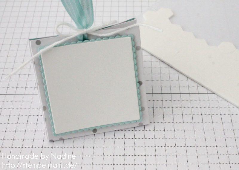 Stampin Up Anleitung Tutorial Explosion Purse Box Schachtel Goodie Verpackung Stempelmami 10