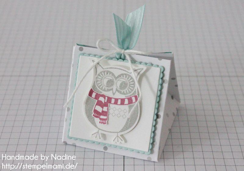 Stampin Up Anleitung Tutorial Explosion Purse Box Schachtel Goodie Verpackung Stempelmami 14