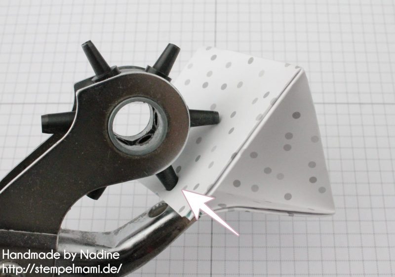Stampin Up Anleitung Tutorial Explosion Purse Box Schachtel Goodie Verpackung Stempelmami 6