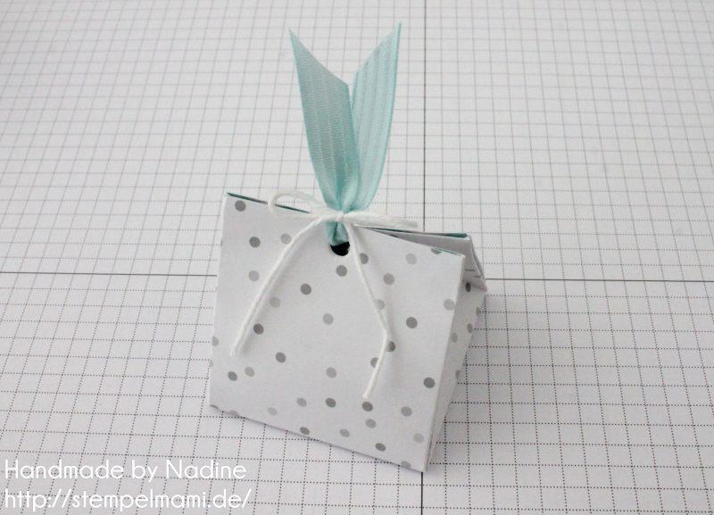 Stampin Up Anleitung Tutorial Explosion Purse Box Schachtel Goodie Verpackung Stempelmami 7