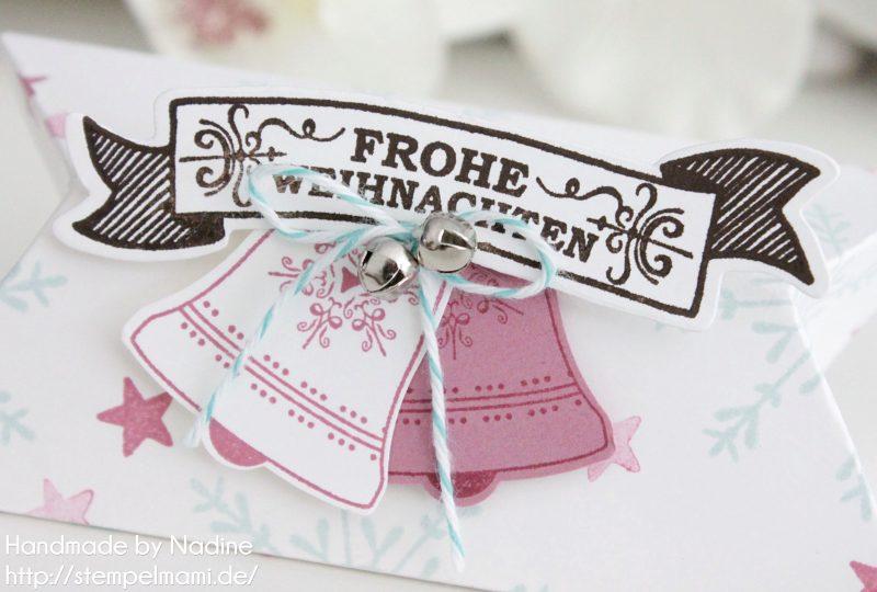 Stampin Up Goodie Box Stempelmami Weihnachten Christmas Pillow Box Schachtel Verpackung 2