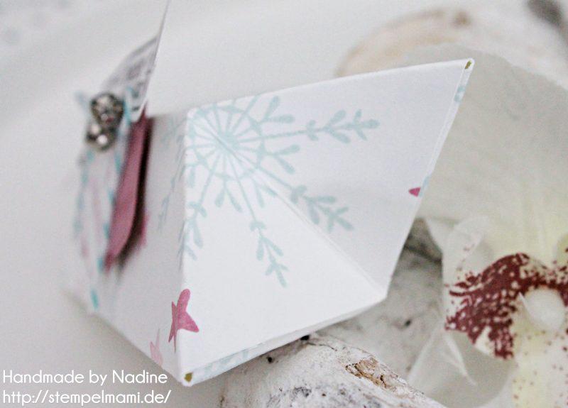 Stampin Up Goodie Box Stempelmami Weihnachten Christmas Pillow Box Schachtel Verpackung 3