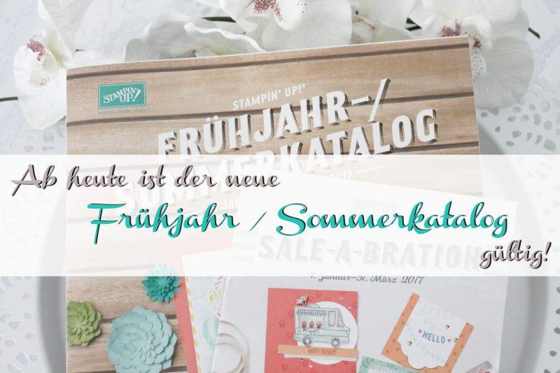 Stampin' Up! Frühjahr / Sommerkatalog und SAB Flyer 2017 ansehen, oder bestellen