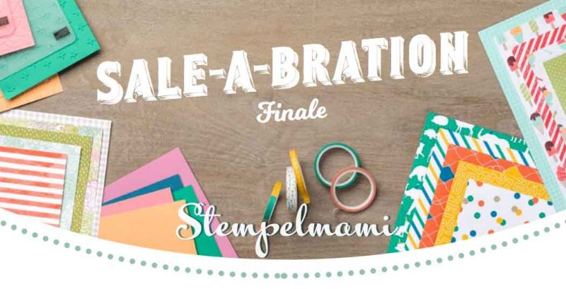 Stampin' Up! Sale A Bration Finale