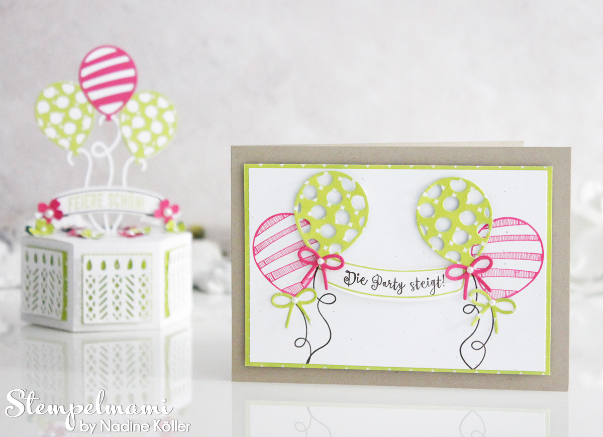 Stampin' Up! Geburtstagsparty, Stamp to Share International Blog Hop