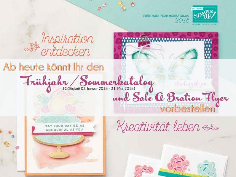 stampin up bestellung katalog fruehjahr sommerkatalog 2018 stempelmami SAB sale a bration flyer 2018