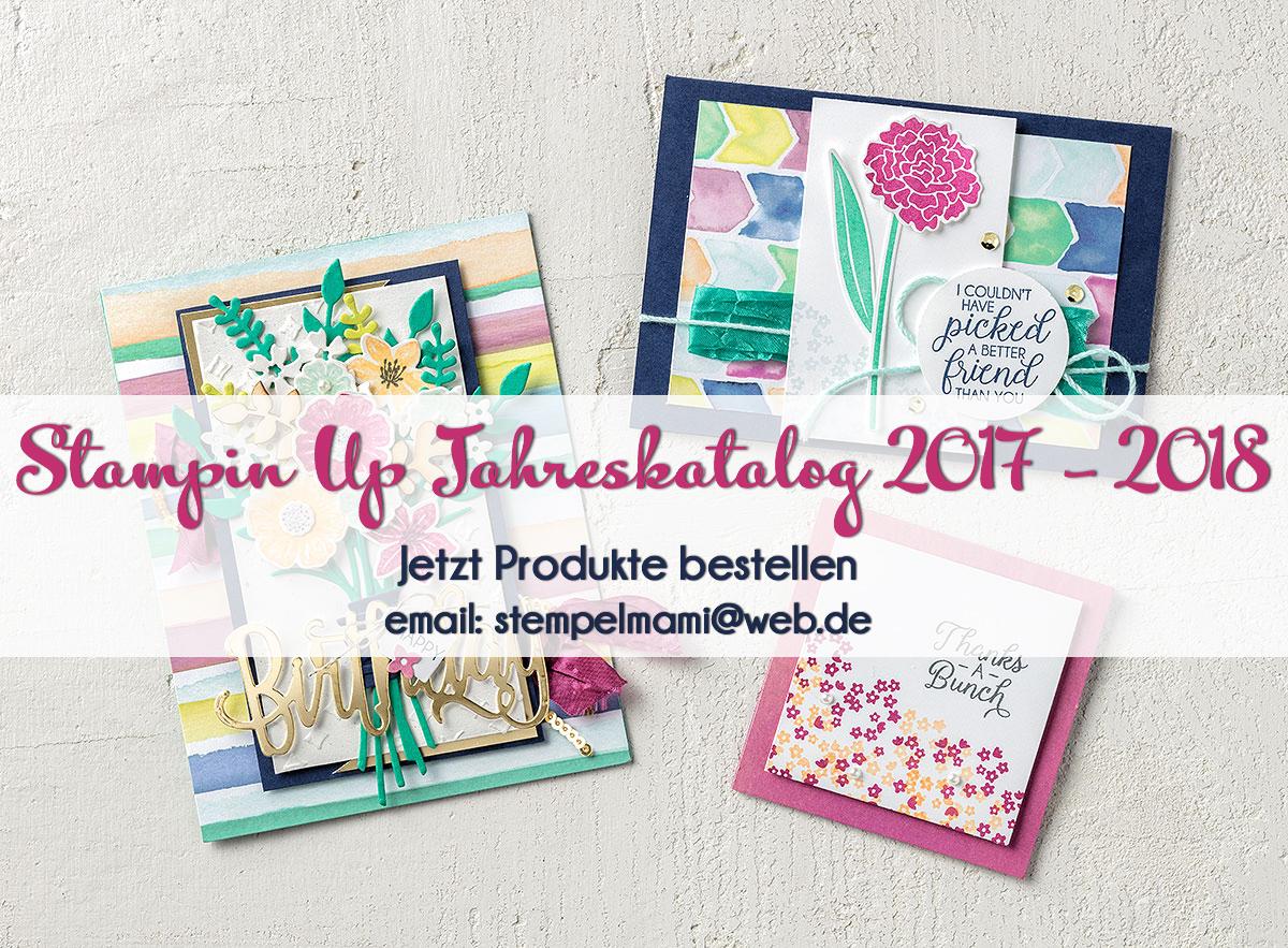 Stampin' Up! Jahreskatalog 2017 – 2018