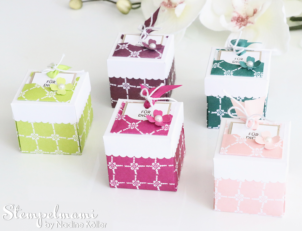 Stampin' Up! Inspire, Copy and Share Team Stempelmami – Mini Boxen